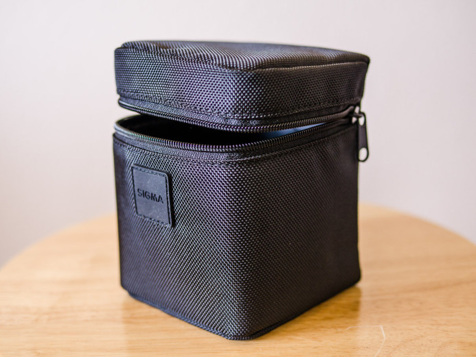 Padded lens case included