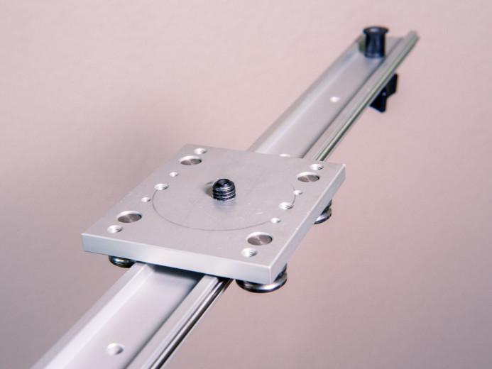 Rail-based slider