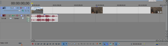 GH4 Footage has excess video in Vegas Pro