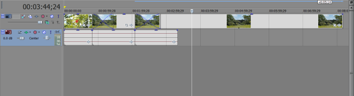 Before Script: GH4 clips overlapping on timeline