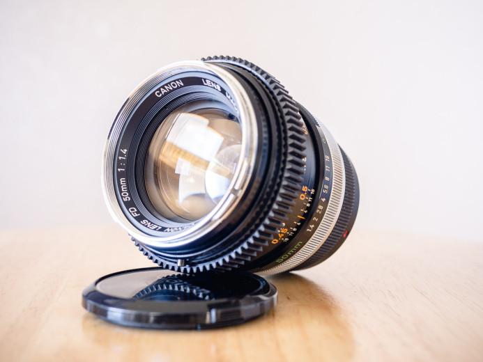 Canon FD 50mm f/1.4 Prime Lens