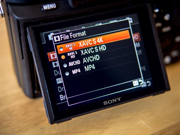 Sony a7S II has internal 4K recording