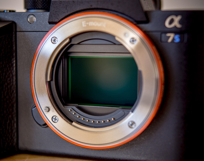 Sony a7S II has a full frame sensor