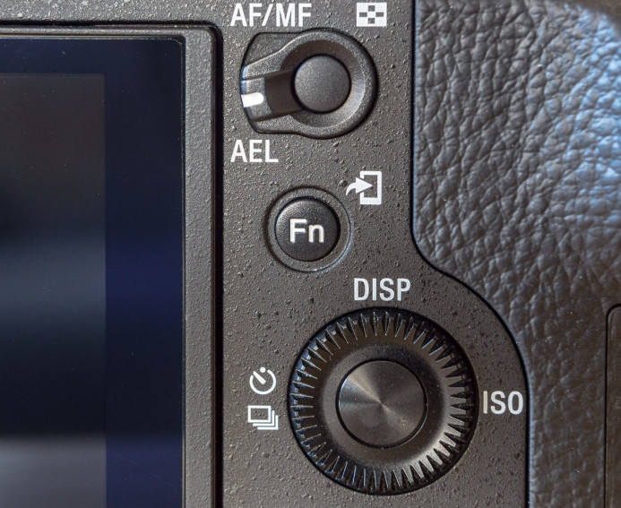 Sony a7S II's function button launches the quick menu