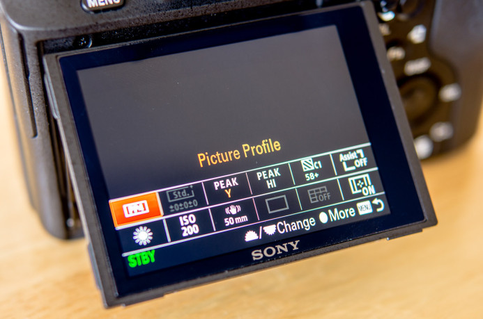Sony a7S II Quick-Access Function Menu