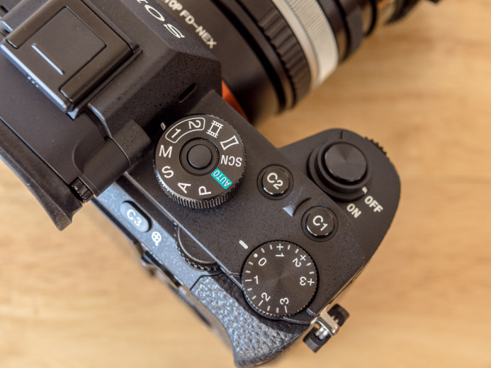 Switch between 2 Custom Presets on Sony a7S II Mode Dial