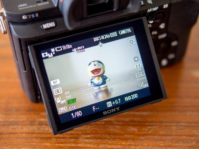 Sony a7S II Focus Peaking