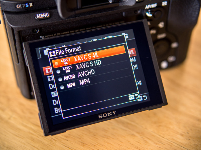 Shooting in 4K on the Sony a7S II