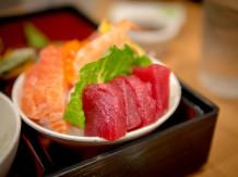 Ahi & Salmon Sashimi