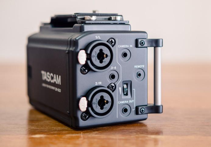 Tascam DR-60D's Dual XLR Inputs