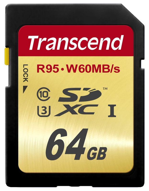 Transcend 64GB U3 SDXC Card