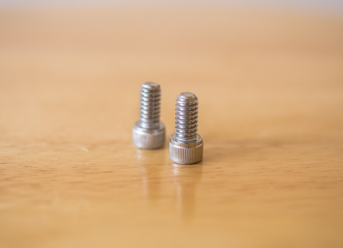 Dovetail mounting bolts