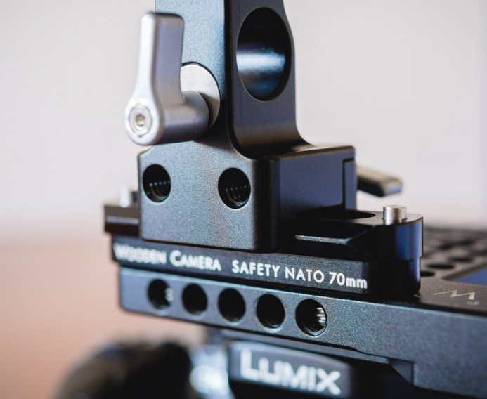 NATO Clamp threaded holes