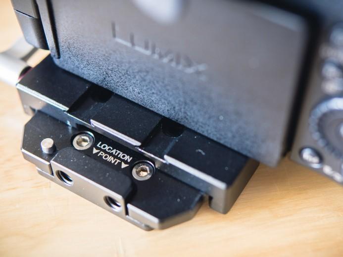 Baseplate safety locking pin