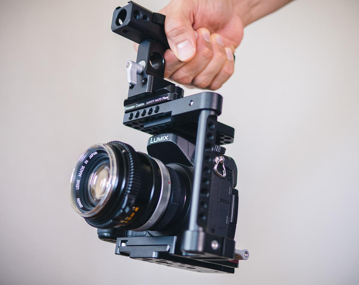 how to make a camera handle