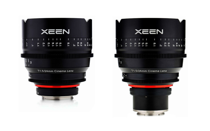 Xeen 24mm T1.5 Cinema Lens (EF and NEX Mounts)