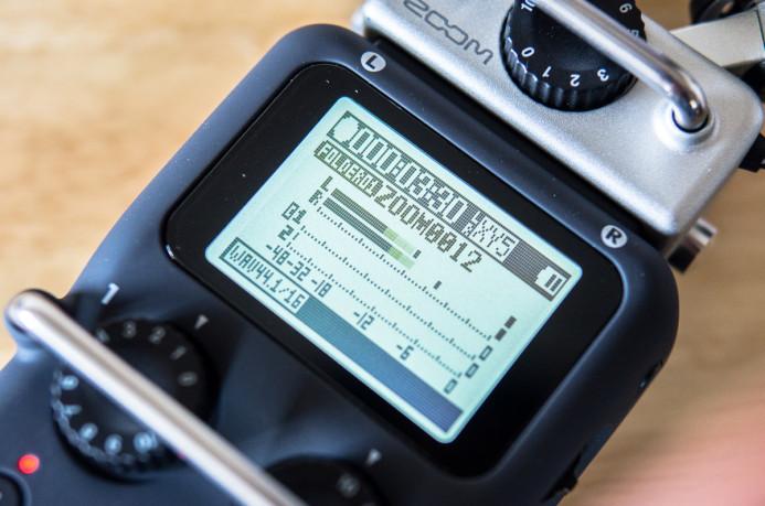 Zoom H5 LCD Display